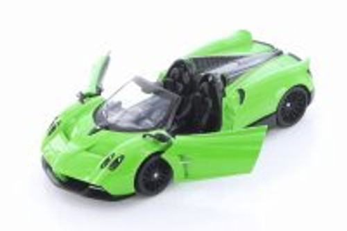 Pagani Huayra Roadster, Green - Showcasts 79354GN - 1/24 scale Diecast Model Toy Car