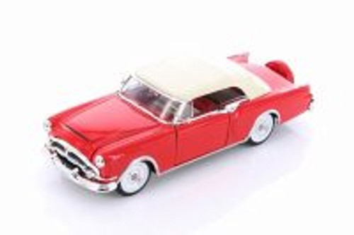 1953 Packard Caribbean Soft Top, Red - Welly 24016H/4D - 1/24 scale Diecast Model Toy Car