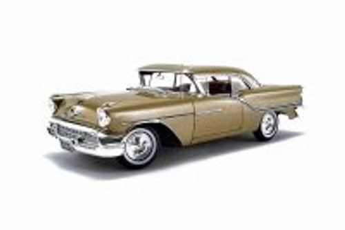1957 Oldsmobile Super 88 Hardtop, Gold Mist - Acme A1808005 - 1/18 scale Diecast Model Toy Car