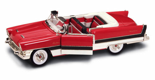 1955 Packard Caribbean Convertible, Cinnamon - Yatming 92618 - 1/18 Scale Diecast Model Toy Car