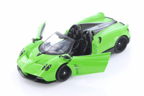 Pagani Huayra Roadster, Green - Showcasts 79354/16D - 1/24 scale Diecast Model Toy Car