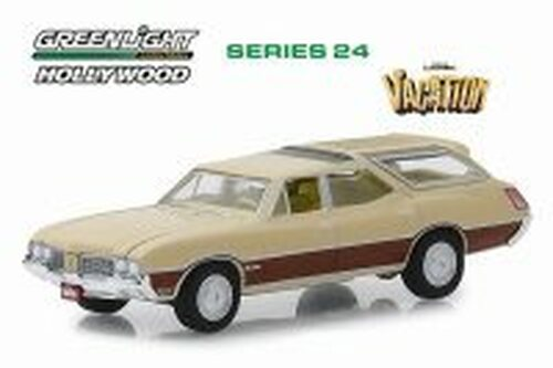 1970 Oldsmobile Vista Cruiser, National Lampoon's Vacation - Greenlight 44840E/48 - 1/64 scale Diecast Model Toy Car