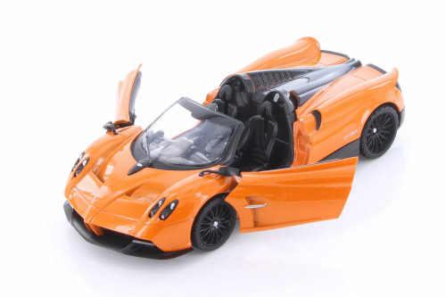 Pagani Huayra Roadster, Orange - Showcasts 79354/16D - 1/24 scale Diecast Model Toy Car