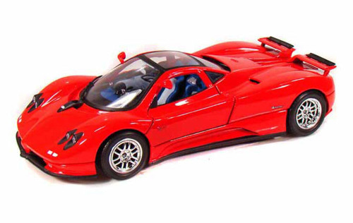 Pagani Zonda C12, Red - Motormax 73147 - 1/18 scale Diecast Model Toy Car