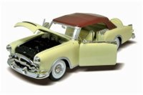 1953 Packard Caribbean Soft Top, Cream - Welly 24016HW/CM - 1/24 scale Diecast Model Toy Car