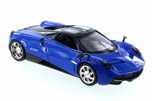 Pagani Huayra, Blue - Motor Max 79312BU/6 - 1/24 Scale Diecast Model Toy Car