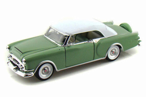 1953 Packard Caribbean Soft Top, Green - Welly 24016HW/GN - 1/24 scale Diecast Model Toy Car