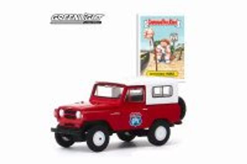 1965 Nissan Patrol, Red - Greenlight 54030/48 - 1/64 scale Diecast Model Toy Car