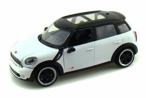 Mini-Cooper S Countryman, White - Showcasts 73353 - 1/24 Scale Diecast Model Toy Car