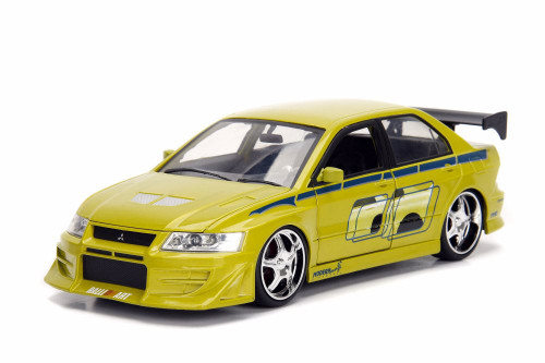 Mitsubishi Lancer Evolution VII Hardtop, Fast and Furious - Jada 99788/4 - 1/24 scale Diecast Model Toy Car