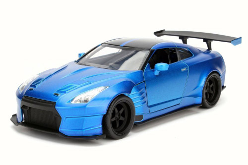 Brian's Nissan Ben Sopra GT-R, Candy Blue - JADA Toys 98247 - 1/24 Scale Diecast Model Toy Car