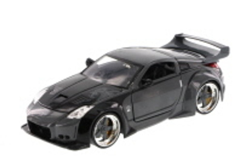 Fast & Furious D.K.'s 2006 Nissan 350Z Hard Top, Gray - JADA 97219 - 1/24 Scale Diecast Model Toy Car (Brand New, but NOT IN BOX)