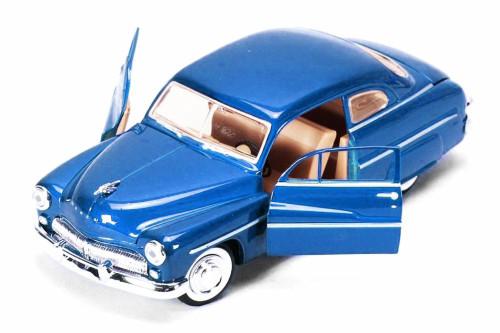 1949 Mercury Coupe, Blue - Showcasts 73225AC/BU - 1/24 scale Diecast Model Toy Car