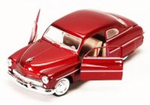 1949 Mercury, Red - Showcasts 73225 - 1/24 Scale Diecast Model Car (Brand New, but NOT IN BOX)