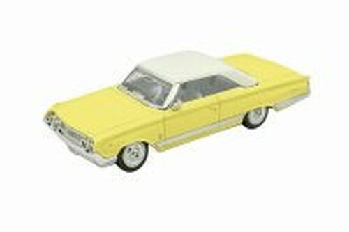 1964 Mercury Marauder Hard Top, Yellow - Lucky Road Signature 94250YL - 1/43 scale Diecast Model Toy Car