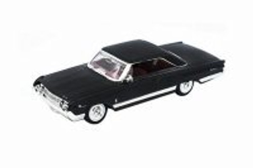 1964 Mercury Marauder Hard Top, Black - Lucky Road Signature 94250BK - 1/43 scale Diecast Model Toy Car