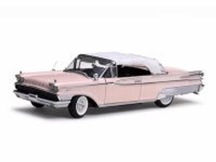 1959 Mercury Park Lane Closed Convertible, Sand - Sun Star 5165 - 1/18 Scale Diecast Model Toy Car