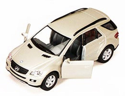 """Mercedes Benz ML-Class SUV, Champagne - Kinsmart 5309DD - 5"""" Diecast Model Toy Car (Brand New, but NOT IN BOX)"""