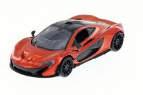 McLaren P1 Hard Top, Red Hard Top - Motor Max 79325 - 1/24 Scale Diecast Model Toy Car