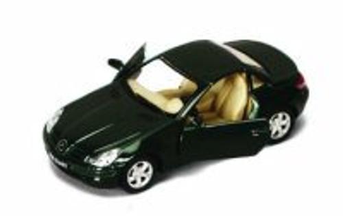 Mercedes Benz SLK-Class, Green - Kinsmart 5095D - 1/32 scale Diecast Model Toy Car