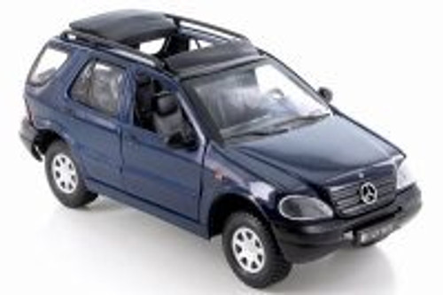 Mercedes-Benz M-Class, Blue - Smart Toys 95121 - 1/24 Scale Diecast Model Toy Car