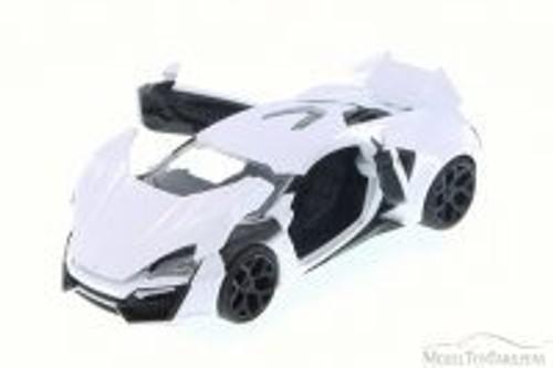 Lykan HyperSport, White - JADA 98028 - 1/24 Scale Diecast Model Toy Car