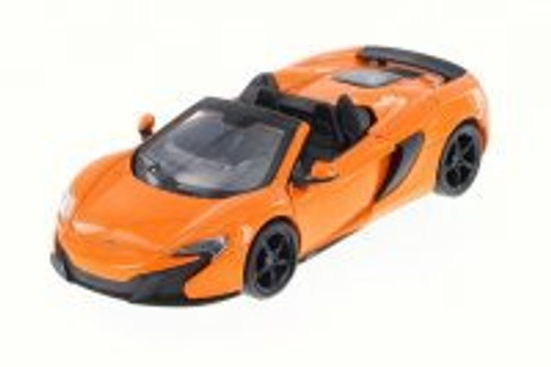 McLaren 650S Spider Convertible, Orange Convertible - Motor Max 79325 - 1/24 Scale Diecast Model Toy Car (Brand New, but NOT IN BOX)