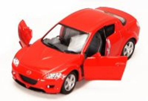 Mazda RX-8, Red - Kinsmart 5071D - 1/36 scale Diecast Model Toy Car