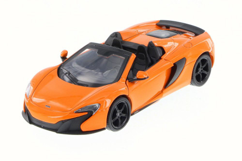 McLaren 650S Spider Convertible, Orange Convertible - Motor Max 79325 - 1/24 Scale Diecast Model Toy Car