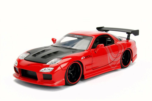 1993 Mazda RX-7, Red - Jada 30344DP1 - 1/24 Scale Diecast Model Toy Car