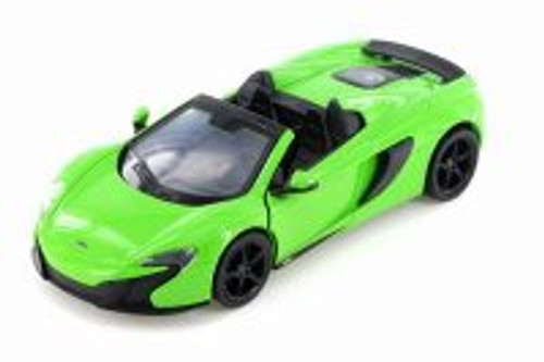 McLaren 650S Spider Convertible, Green - Showcasts 79326GN - 1/24 scale Diecast Model Toy Car
