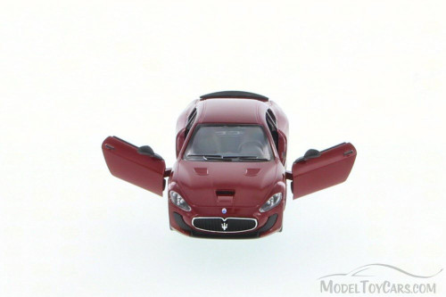 Maserati Grand Turismo MC Stradale, Red - Kinsmart 5395D - 1/36 Scale Diecast Model Toy Car (Brand New, but NOT IN BOX)