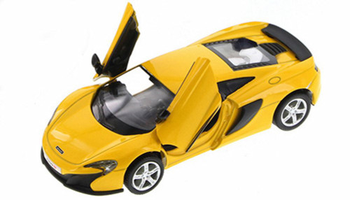 Mclaren 650, Yellow - Showcasts 555992 - 1/36 Scale Collectible Model Toy Car