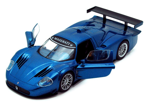 Maserati MC 12 Corsa, Blue - Showcasts 73361 - 1/24 Scale Diecast Model Toy Car (Brand New, but NOT IN BOX)