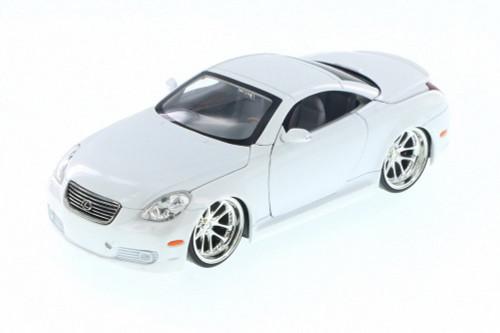 Lexus SC430, White - Jada 50989C - 1/24 Scale Diecast Model Toy Car