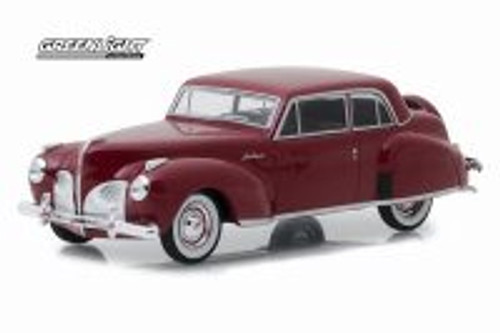 1941 Lincoln Continental Hard Top, Red - Greenlight 86324 - 1/43 scale Diecast Model Toy Car