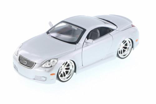 Lexus SC430, Silver - Jada 50989C - 1/24 Scale Diecast Model Toy Car