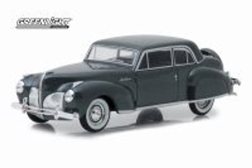 1941 Lincoln Continental Hard Top, Gray Metallic - Greenlight 86325 - 1/43 scale Diecast Model Toy Car