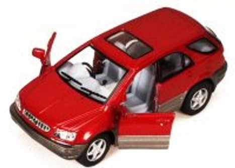Lexus RX 300 SUV, Red - Kinsmart 5040D - 1/36 scale Diecast Model Toy Car (Brand New, but NOT IN BOX)