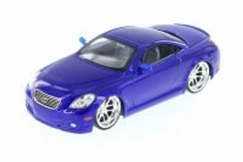 Lexus SC430, Blue - Jada 50989C - 1/24 Scale Diecast Model Toy Car