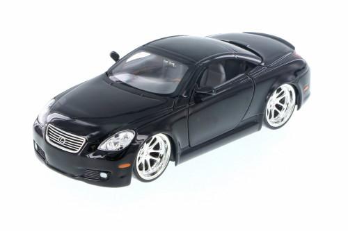 Lexus SC430, Black - Jada 50989C - 1/24 Scale Diecast Model Toy Car