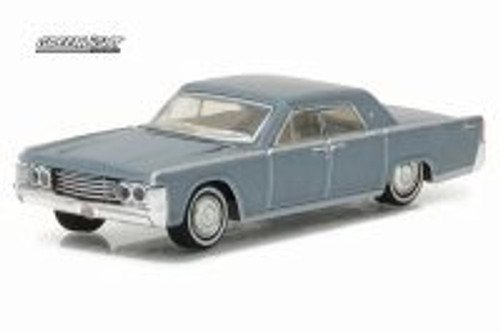1965 Lincoln Continental, Madison Gray - Greenlight 29895 - 1/64 Scale Diecast Model Toy Car