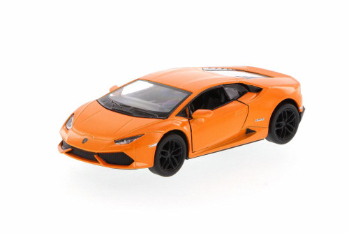 Lamborghini Huracan LP610-4, Orange - Kinsmart 5382D - 1/36 Scale Diecast Model Toy Car