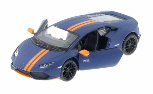 Lamborghini Huracan LP610-4 Avio, Blue - Kinsmart 5401D - 1/36 Scale Diecast Model Toy Car