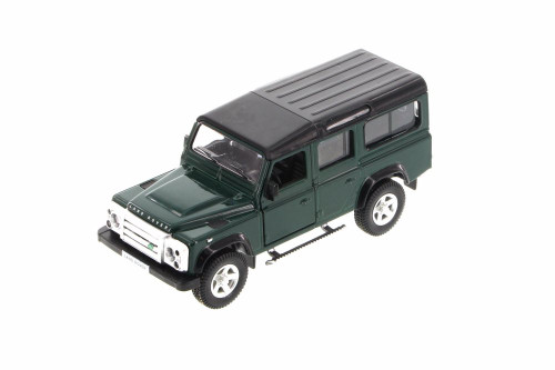 Land Rover Defender SUV, Green - Showcasts 555006 - Diecast Model Toy Car
