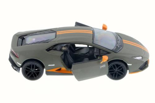 Lamborghini Huracan LP610-4 Avio, Charcoal - Kinsmart 5401D - 1/36 Scale Diecast Model Toy Car