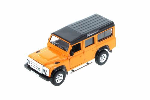 Land Rover Defender SUV, Orange - Showcasts 555006 - Diecast Model Toy Car