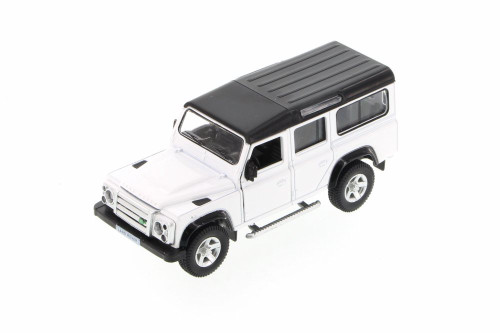 Land Rover Defender SUV, White - Showcasts 555006 - Diecast Model Toy Car