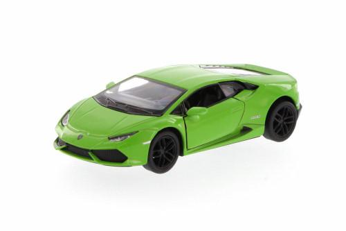 Lamborghini Huracan LP610-4, Green - Kinsmart 5382D - 1/36 Scale Diecast Model Toy Car