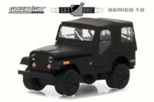 1970 Jeep CJ-5, Black - Greenlight 27950D/48 - 1/64 Scale Diecast Model Toy Car